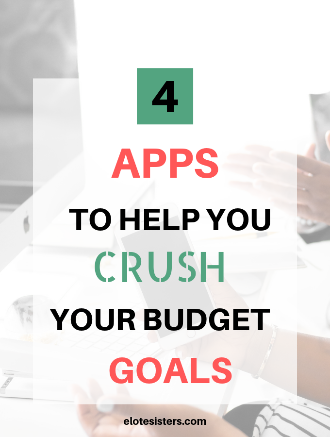 Budgeting is hard. Hang ups can keep you from your goals. You need to change that. Here are 4 apps that will help you achieve your financial goals.