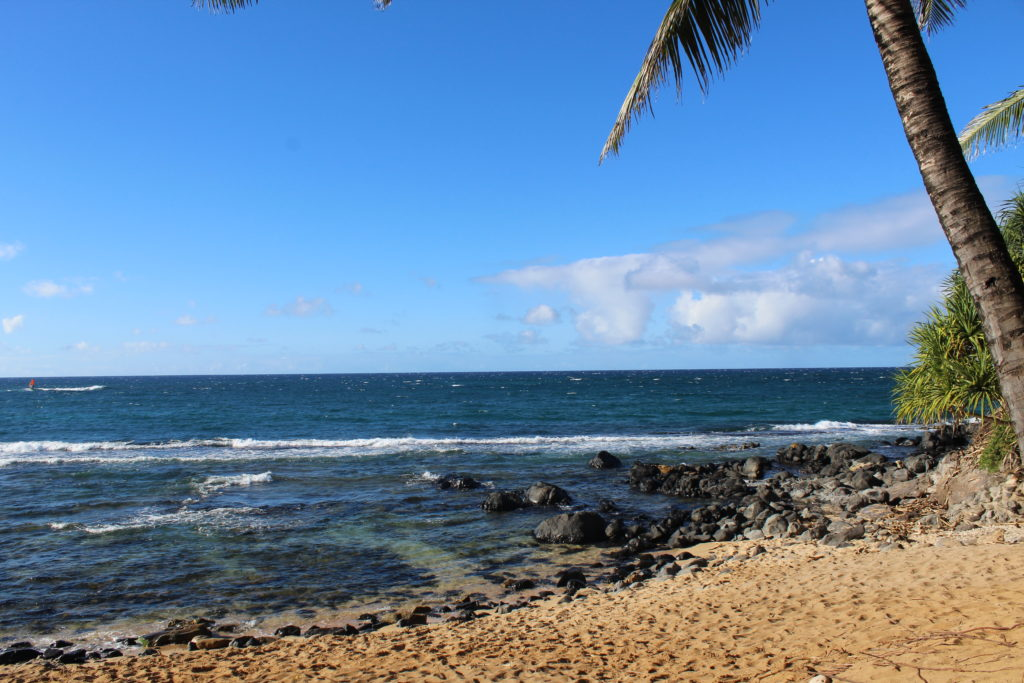 One of the best things to do in Maui is to visit this tropical beach, Kuau cove.