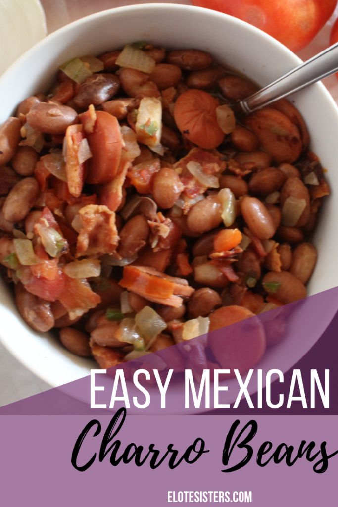Easy Mexican Charro Beans